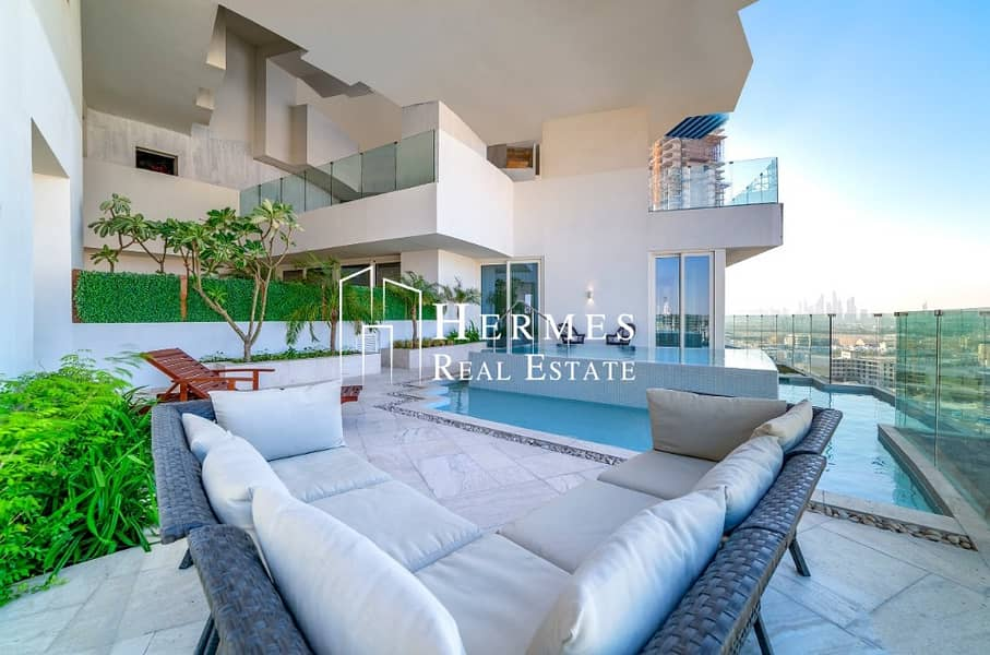 Luxury 4 bedroom Penthouse for sale in Five JVC