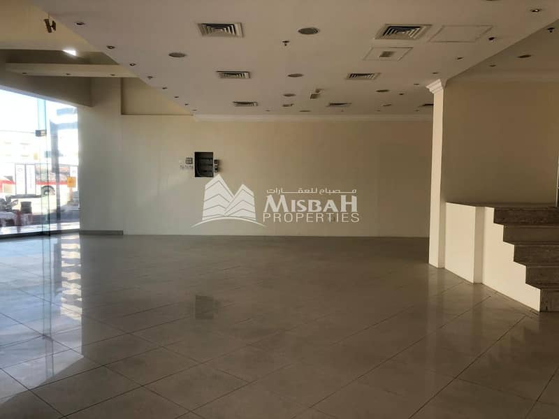 2 2212 to 3704sqft @ AED 100/sqft Retail Space on Main Road near Clock Tower and Deira City Center