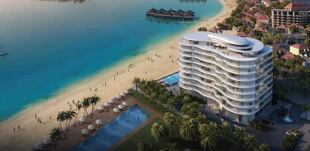 1 Bedroom Flat for Sale in Palm Jumeirah, Dubai - Beach House Ready at Palm Jumeirah/ Furnished  Apartment  in One- Bedroom and 2 Bathroom in Royal Bay with Flexible Payment Plan