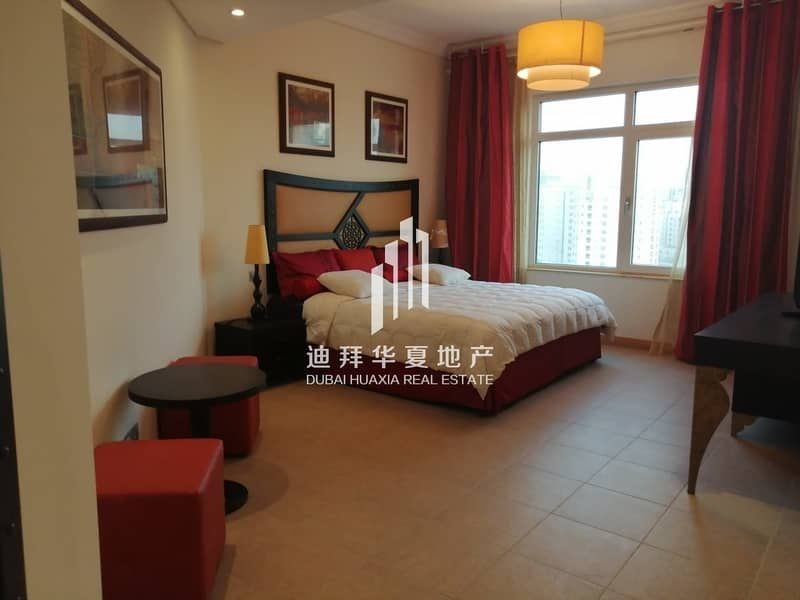 2 Lovely 3br+M Fully Furnished Palm in Jumeirah