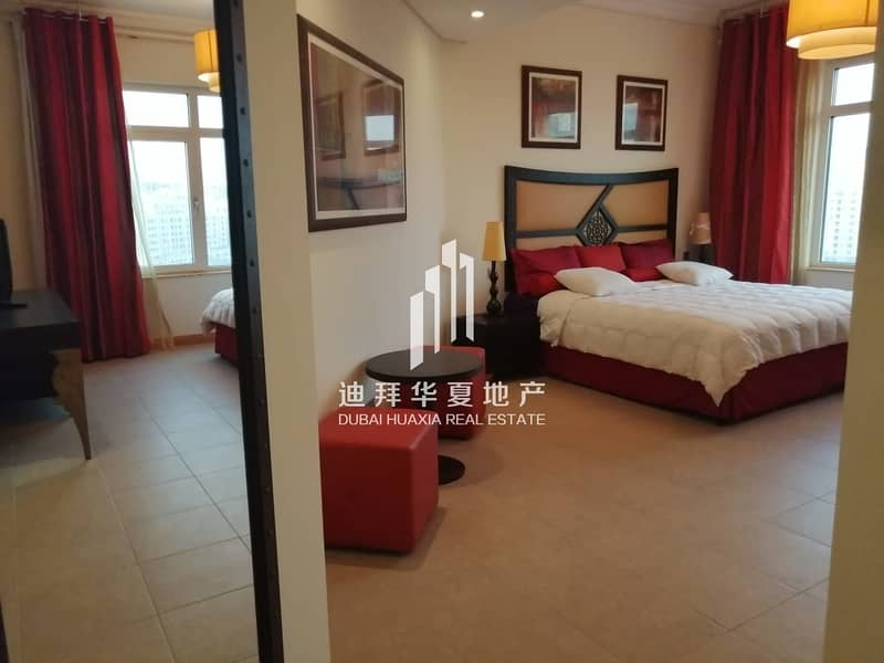 15 Lovely 3br+M Fully Furnished Palm in Jumeirah