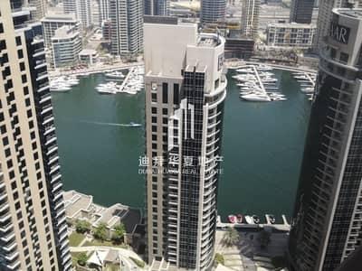 2 Bedroom Apartment for Rent in Jumeirah Beach Residence (JBR), Dubai - Hot Deal Spacious  2br Full Marina View in JBR