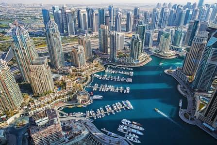 محل تجاري  للبيع في دبي مارينا، دبي - Lake View | Marina Wharf II | Investment Hotspot