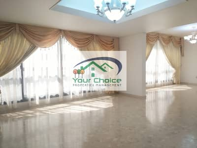 4 Bedroom Flat for Rent in Electra Street, Abu Dhabi - Affordable and Stunning  4 Bedroom  with Balcony & Maid's Room   for only 125