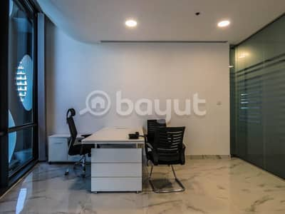 Office for Rent in Business Bay, Dubai - Best price for fitted office for rent in Business Bay