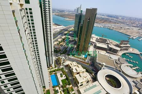 3 Bedroom Apartment for Rent in Al Reem Island, Abu Dhabi - STUNNING 3 BR APT WITH SEA VIEW BOOK NOW
