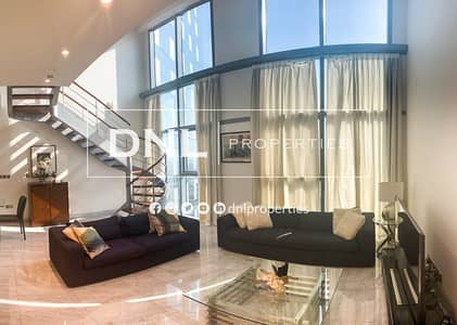2 Bedroom Apartment for Rent in DIFC, Dubai - High Floor | 2 BR Duplex | With Terrace | Central Park Tower | DIFC