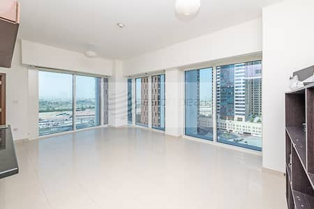 1 Bedroom Flat for Rent in Business Bay, Dubai - AC / Gas Free | 1 BR | Canal and Burj View