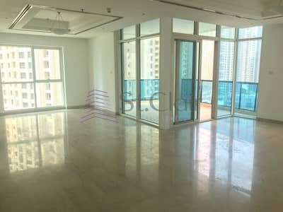 2 Bedroom Apartment for Rent in Dubai Marina, Dubai - Marina and Lake View | Large 2 Beds with Balcony