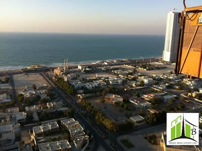 1 Bedroom Flat for Rent in Al Sawan, Ajman - sea view