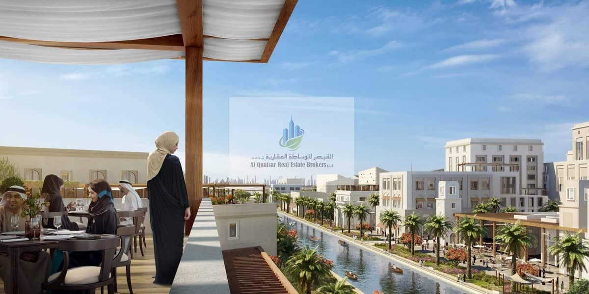 only 5 % down payment| 20 on Handover| Waterfront apartments