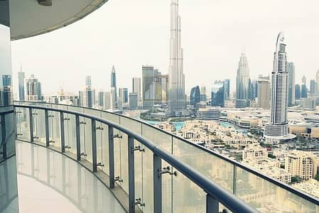 Full Burj khalifa and fountain view Vacant 2BR