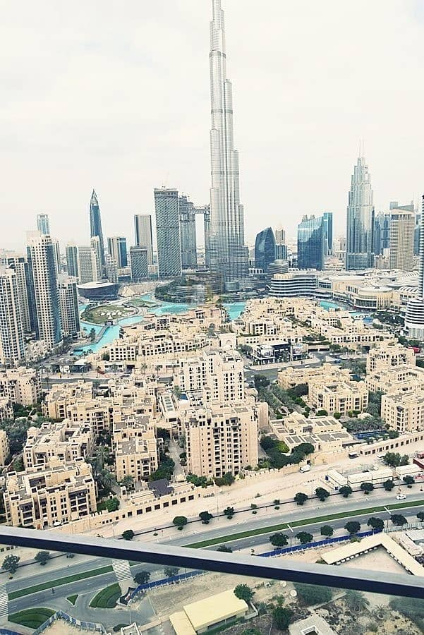 2 Full Burj khalifa and fountain view Vacant 2BR