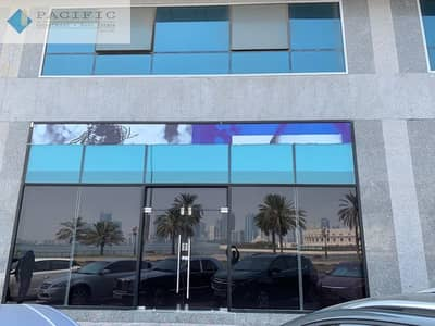 Showroom for Rent in Corniche Al Buhaira, Sharjah - Prime Showroom Space for Rent. Best Visibility