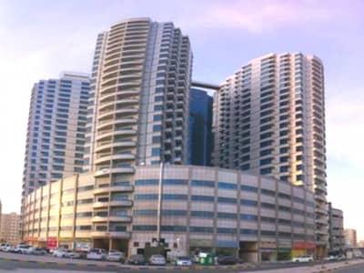 فلیٹ 1 غرفة نوم للايجار في عجمان وسط المدينة، عجمان - شقة في برج الصقر عجمان وسط المدينة 1 غرف 22000 درهم - 4286991