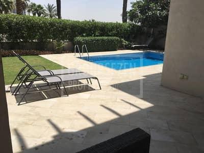 فیلا 4 غرفة نوم للايجار في القرهود، دبي - Fully furnishede 4 Bed Villa with S P  in Garhoud