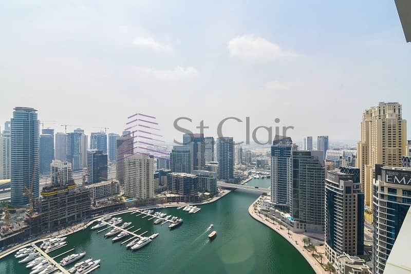 2 High Floor 3 Beds in Paloma  Tower | Marina View