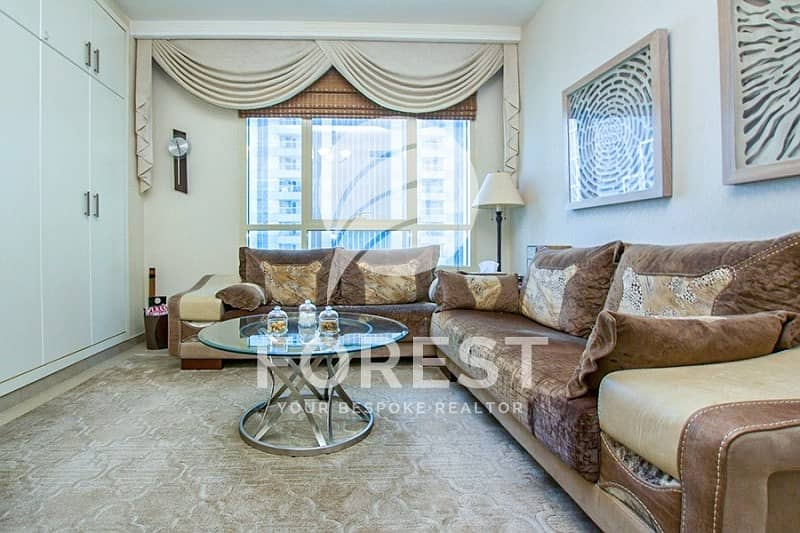 2 Luxurious and Unique 1 BR with Sea and Marina View