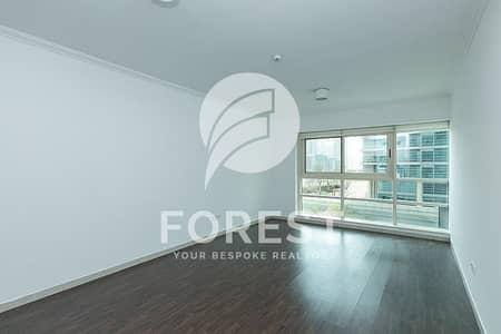 شقة 1 غرفة نوم للايجار في دبي مارينا، دبي - Unfurnished |Partial Marina View|Vacant 1st wk Oct