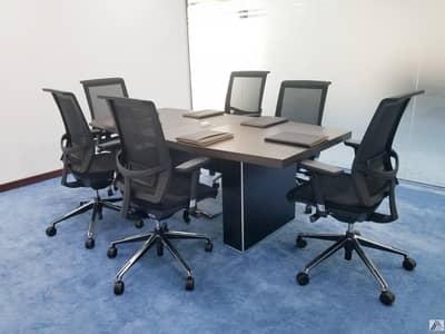 مکتب  للايجار في شارع الشيخ زايد، دبي - Flexi Offices with Conference room Facility