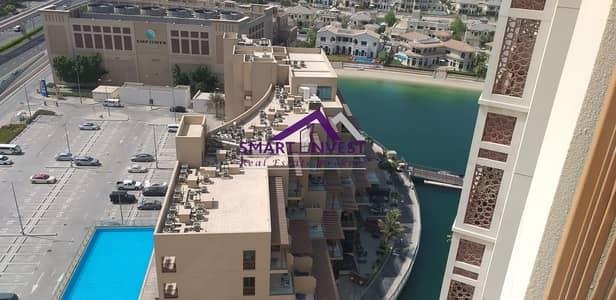 فلیٹ 2 غرفة نوم للايجار في نخلة جميرا، دبي - Fully Furnished 2BR Apt for rent in Marina Residence