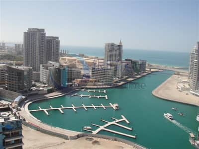Studio for Rent in Dubai Marina, Dubai - Well Maintained Fully Furnished Apartment | Sea View | Negotiable
