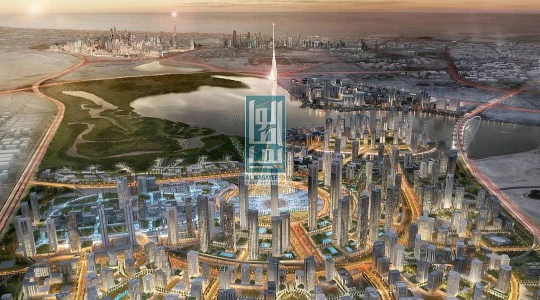 1BR in Mohamed Bin Rashid's City with rental guaranteed