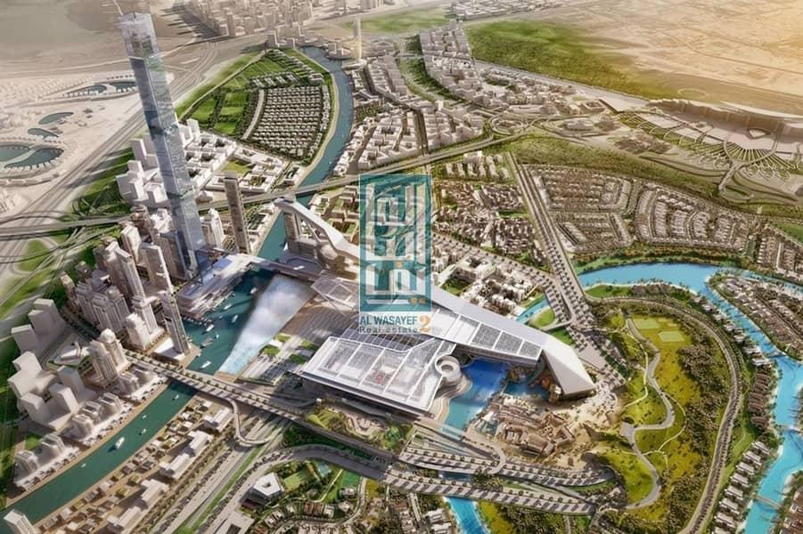 2 1BR in Mohamed Bin Rashid's City with rental guaranteed