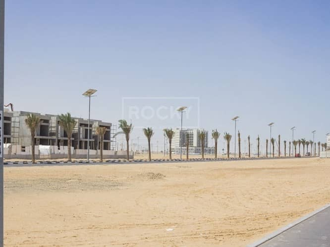 Closed to Road | G+1 | Residential Plot | Al Furjan