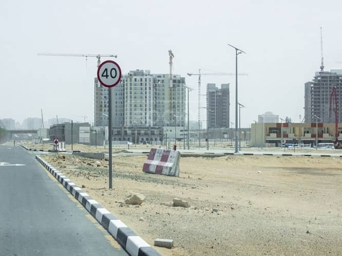 13 Closed to Road | G+1 | Residential Plot | Al Furjan