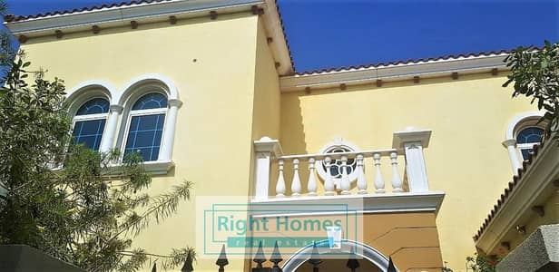 4 Bedroom Villa for Rent in Jumeirah Park, Dubai - Spacious 4BR with Private Pool - Jumeirah Park Legacy