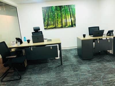 مکتب  للايجار في شارع الشيخ زايد، دبي - SHARING OFFICE/ Sustainable Executive Office @14