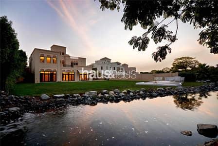 فیلا 5 غرفة نوم للايجار في البراري، دبي - Stunning | Waterway | Most Private Villa Available
