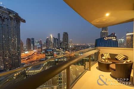 شقة 3 غرفة نوم للايجار في وسط مدينة دبي، دبي - Luxury Furniture | 3 Bedroom | DIFC View
