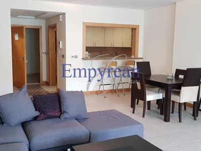 شقة 1 غرفة نوم للايجار في نخلة جميرا، دبي - Beautiful Large One Bedroom Shoreline Apartment LHS Palm Jumeriah