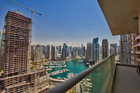 3 Bedroom Flat for Rent in Dubai Marina, Dubai - Remarkable 3 Bed + Maid | Stunning Marina view