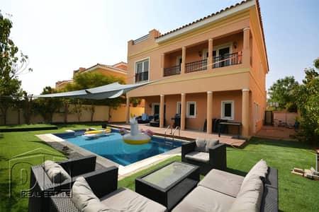 5 Bedroom Villa for Rent in The Villa, Dubai - Prime Courtyard Close To The School With Private Pool