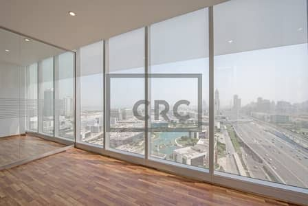 Office for Rent in Dubai Media City, Dubai - Partitioned and Carpeted office on Sheikh Zayed Road