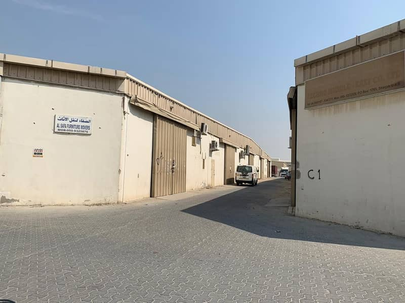WAREHOUSE FOR RENT AT AFFORDABLE PRICE WITH EASY PAYMENT TERMS AVAILABLE IN SHARJAH