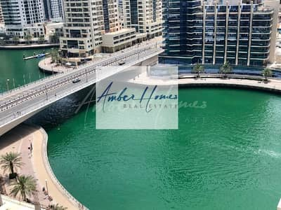 1 Bedroom Apartment for Sale in Dubai Marina, Dubai - Fully Furnished /Marina View 1Br Continental Tower/Chiller Free @ 1.1M