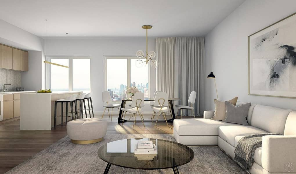 8 Spacious Studio Apartment with Furnished Kitchen in Dubai Health Care City at Creek Views by Azizi