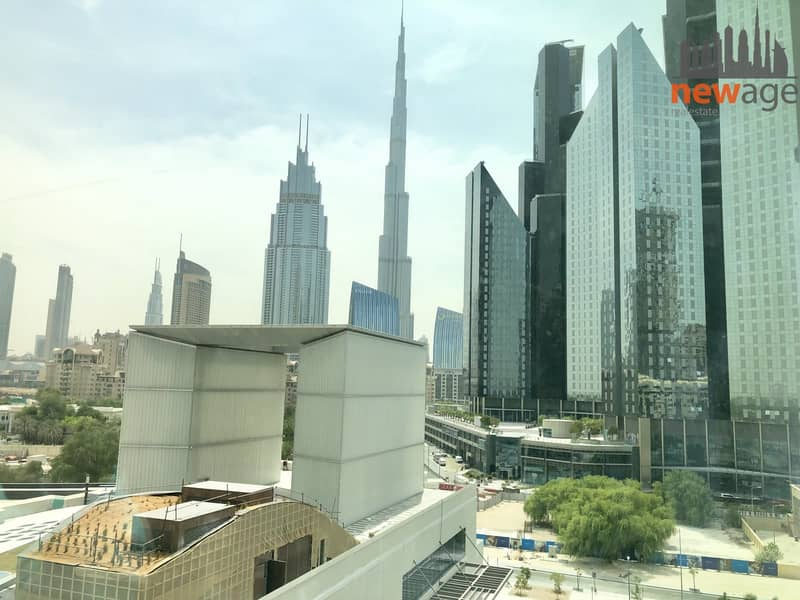Shell & core  office for RENt in Emirates Financial Towers DIFC