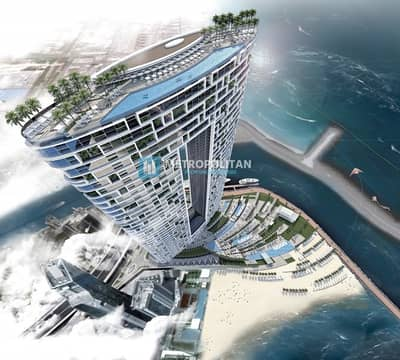2 Bedroom Apartment for Sale in Jumeirah Beach Residence (JBR), Dubai - Brand New Apartment With Marina & Sea View