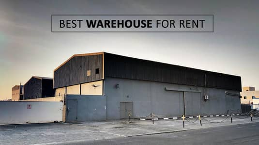 Warehouse for Rent in Al Jurf, Ajman - Warehouse with 640 kva electricity and very good height.