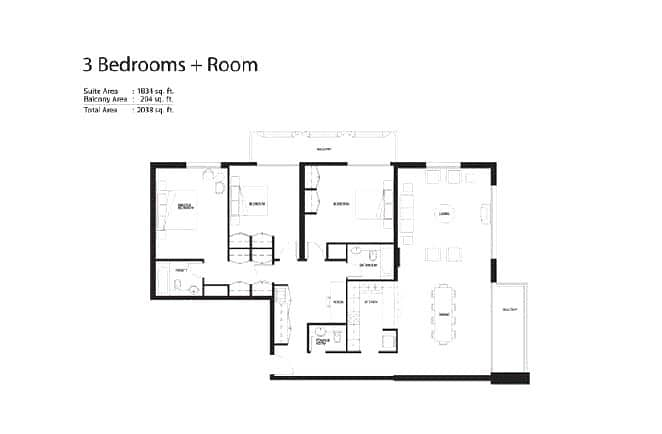 10 3 Bedroom | Vacant On Transfer | 2 Parking