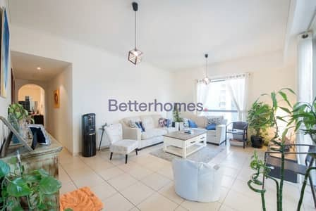 2 Bedroom Flat for Rent in Jumeirah Beach Residence (JBR), Dubai - Sea View I Terraced Apartment I 2BR Hall I Rimal 4