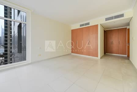 2 Bedroom Apartment for Rent in Jumeirah Lake Towers (JLT), Dubai - Low Level | Unfurnished | Community View