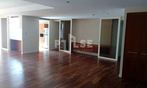 فلیٹ 3 غرفة نوم للبيع في مركز دبي المالي العالمي، دبي - First Floor | Three Bedroom | Mall District View