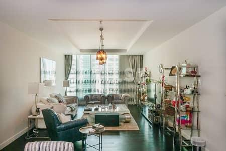 فلیٹ 2 غرفة نوم للبيع في مركز دبي المالي العالمي، دبي - High Floor Two Beds Plus Maid - Limestone