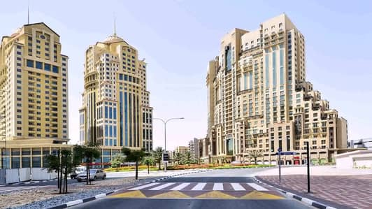 1 Bedroom Apartment for Rent in Dubai Silicon Oasis, Dubai - 1 Bedroom with balcony chiller free palace towers silicon oasis